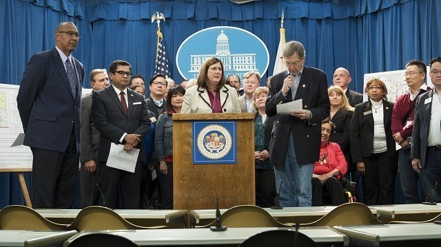 Press Conference in the Governor's Press Room on AB 1147: The Massage Therapy Reform Act (Photo: California State Assembly)