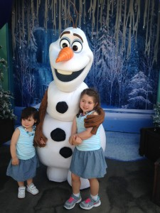 Olaf and Kids